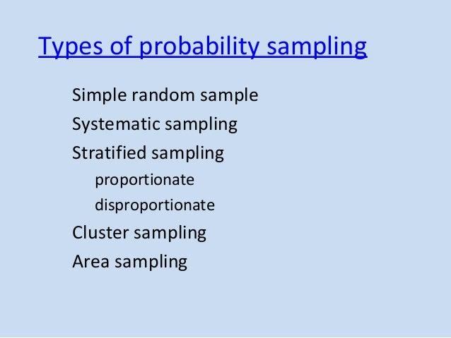 simple random sampling in research Sampling theory| chapter 2 | simple random sampling | shalabh, iit kanpur page 1 chapter -2  simple random sampling  simple random sampling (srs.