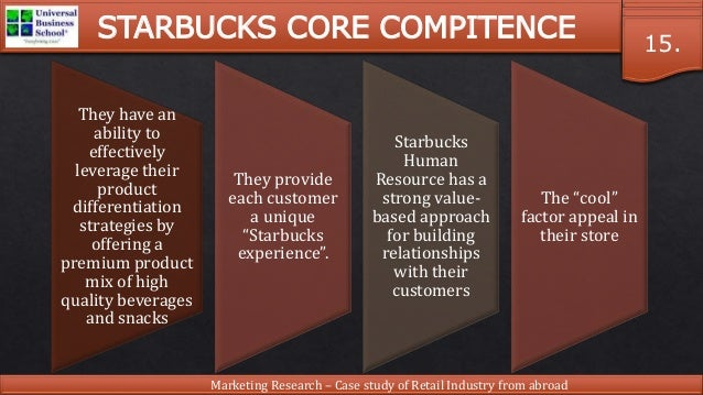 an analysis of market research in starbucks An analysis on the market segmentation market of starbucks this research conducted a survey on are brought to a marketing expert for further analysis and.