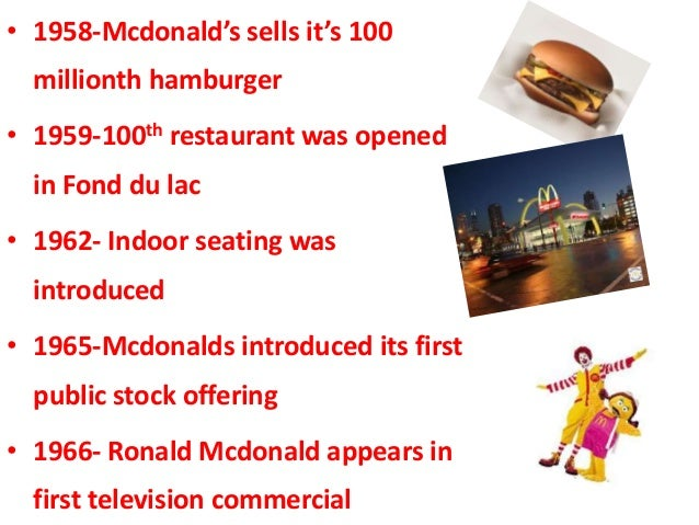 Market research mcdonalds