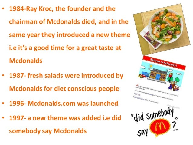 market research mcdonalds All the marketing news, analysis, opinions and ad campaigns from mcdonald's.