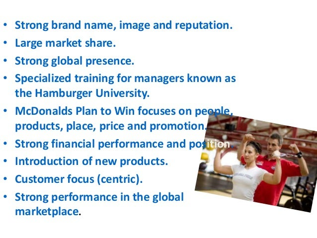 a market research of mcdonalds as a fast food industry Global fast food market - industry analysis, size, share, growth, trends some of the major players in the fast food market are mcdonald's corporation.