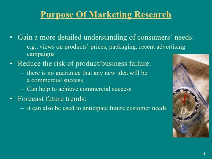 objective of marketing research 19012018  market research provides relevant data to help solve marketing challenges that a one of the most effective forms of marketing research is the.