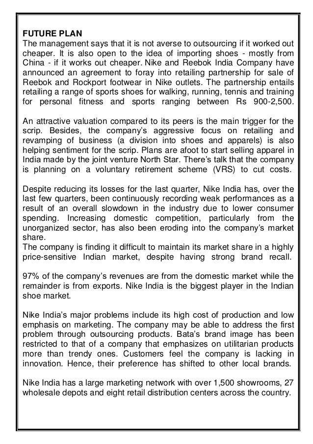 feasibility study on shoe making business pdf