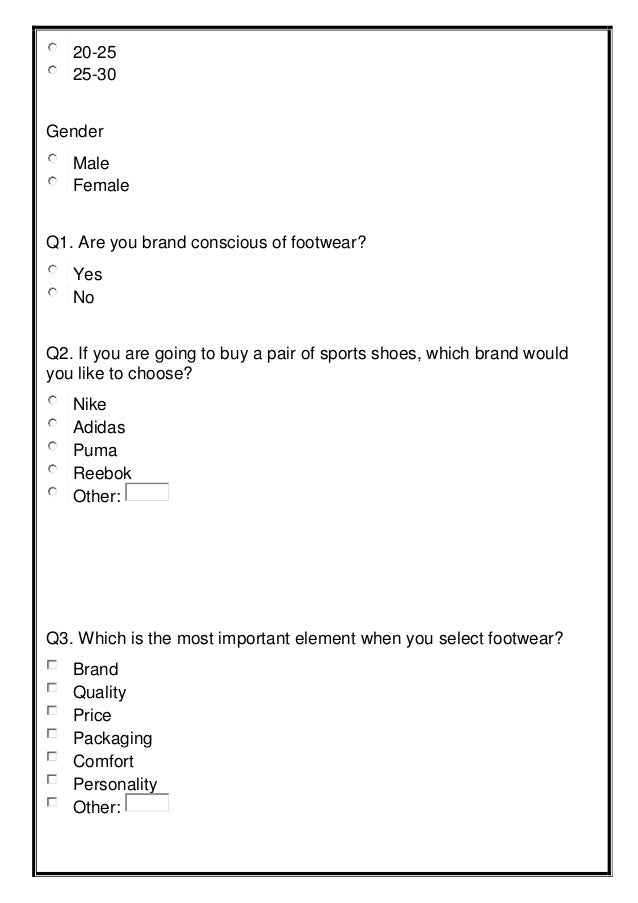 Athlete Questionnaire