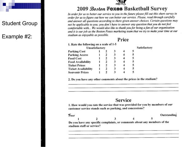 market research questionnaire template word