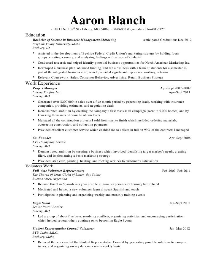 how to write a resume - Handyman Resume Samples