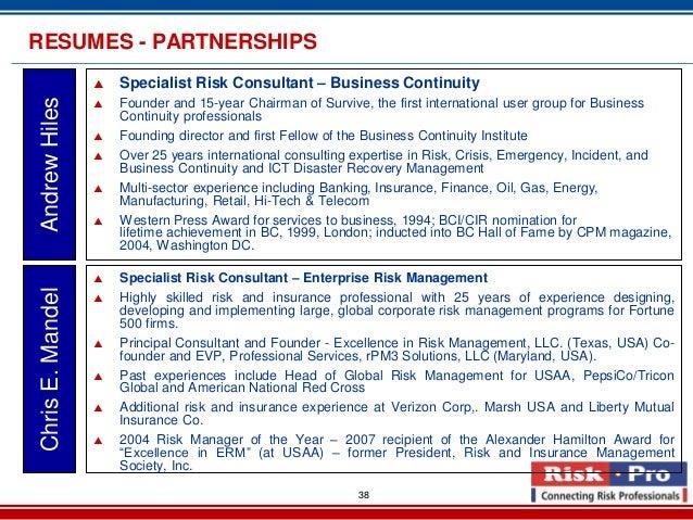 marketing risk advisory brochure 2013