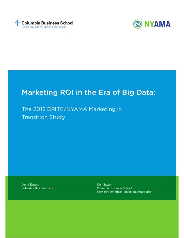 big data in marketing pdf