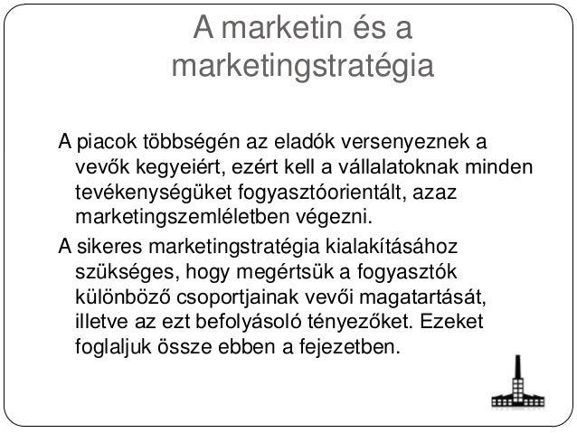 Marketing és a marketingstratégia Slide 2