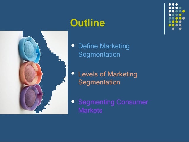 Marketing segmentation Slide 2