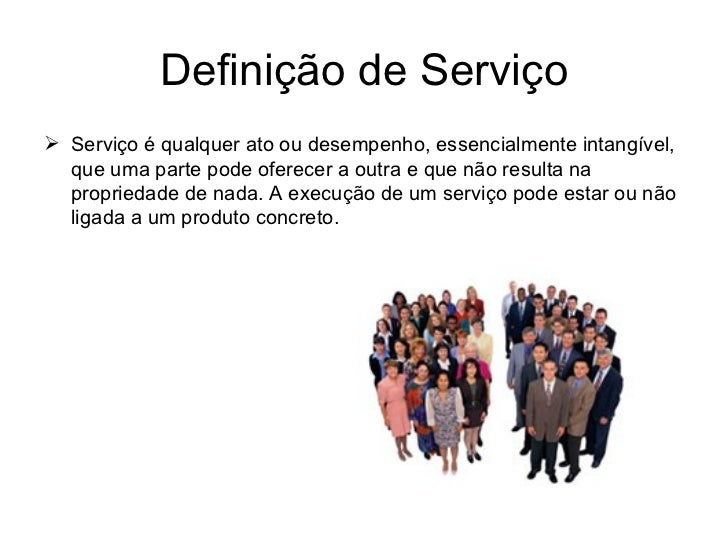 Marketing de Serviços Slide 3