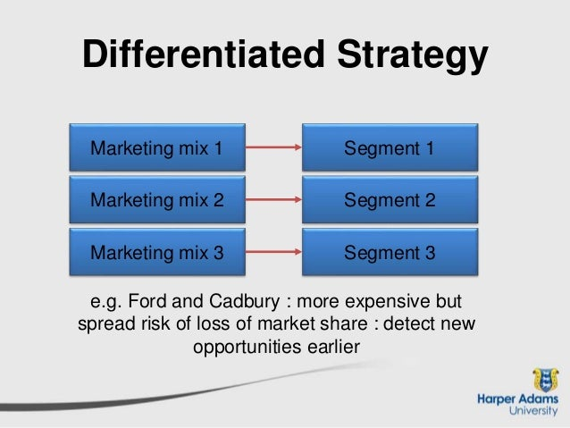 cadbury differentiation strategy A differentiation strategy for fmcg companies on ingredient branding cadbury and nestle have been a dominant force in the fmcg sector well supported by.