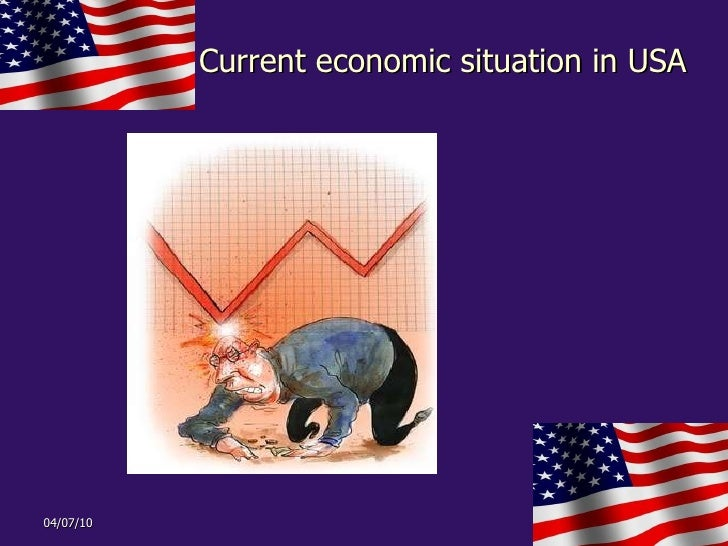 Current economic situation in USA