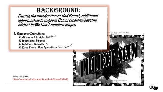 https://www.industrydocuments.ucsf.edu/docs/sfck0098 RJ Reynolds (1995)
