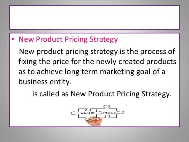 pricing strategy marketing plan pdf