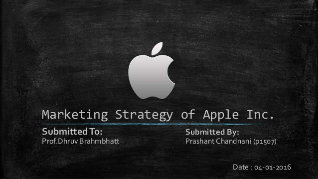 the marketing strategies of apple Marketing plan of apple the company's marketing strategy includes several point that results in success that are • a campaign should be introduced who.