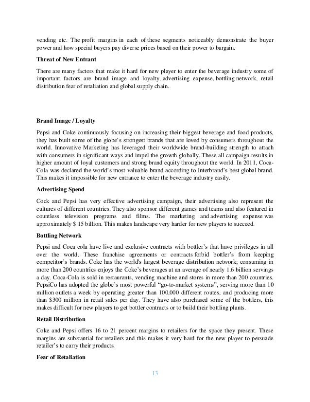 swot analysis of coca cola in brazil Coca-cola egypt no description situation analysis the coca-cola company introduction songs,in store advertising, and free trips to brazil egyptian market.