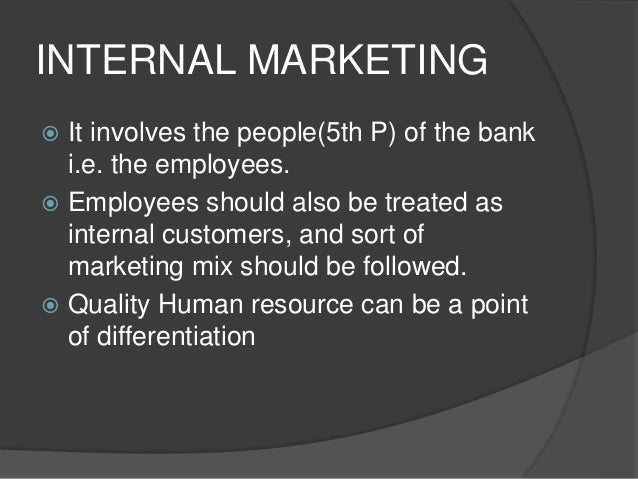 INTERACTIVE MARKETING  The quality of service provided during the buyer-employee interaction.  Efforts for previous stra...