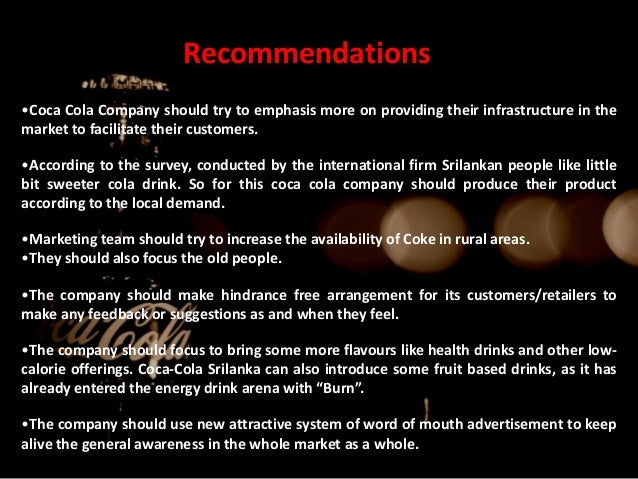 coca cola and their internation marketing strategies The responsibilities for coca-cola are brand promotion, marketing  for help to  raise the international profile of the brand further coca-cola entry the third  set  of market tools the firm uses to implement its marketing strategy.