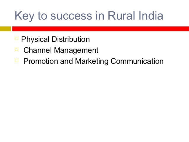 Importance of Advertising in Rural Marketing         The low level of education that creates problem in brand identif...