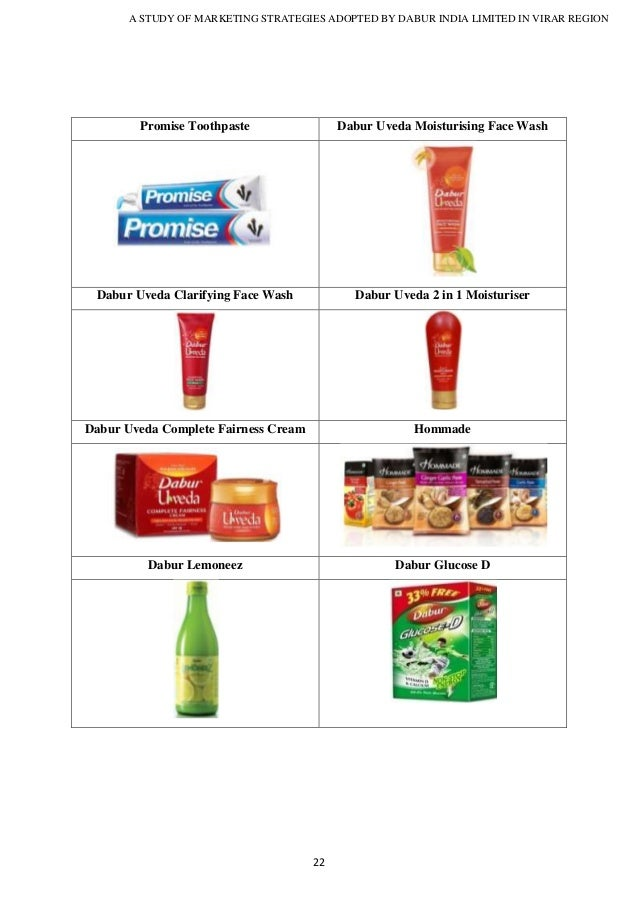 dabur limited marketing analysis Dabur india limited (dabur) - financial and strategic swot analysis review provides you an in-depth strategic swot analysis of the company's businesses and ope.