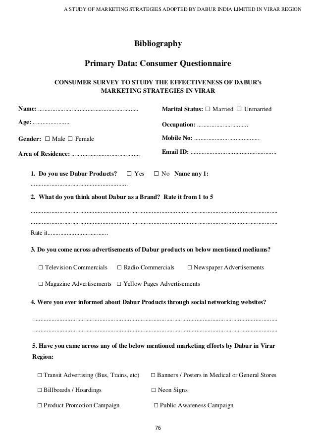 Questionnaire Templates