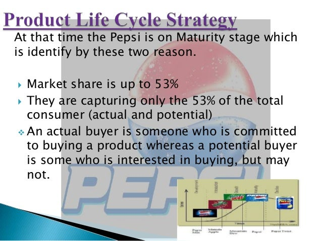marketing strategies of pepsi Pepsi perfect marketing plan  accordingly, pepsi perfect marketing strategies designe depending upon their likes, dislikes, moods, preferences, fashions and buying habits 10 locality: pepsi perfect buying is also reflected by the locality within a particular city for instance, there are differences in terms of buying patterns of people.