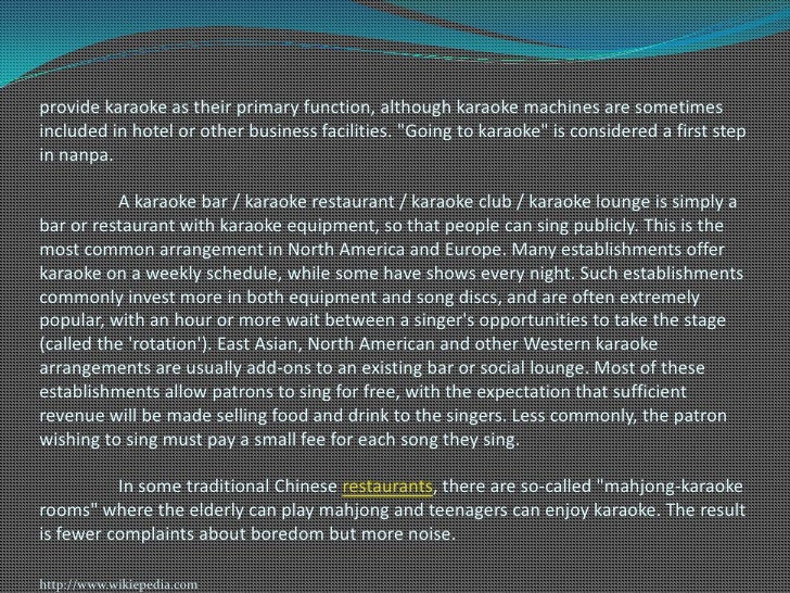 Marketing strategies of selected ktv bar and restaurant