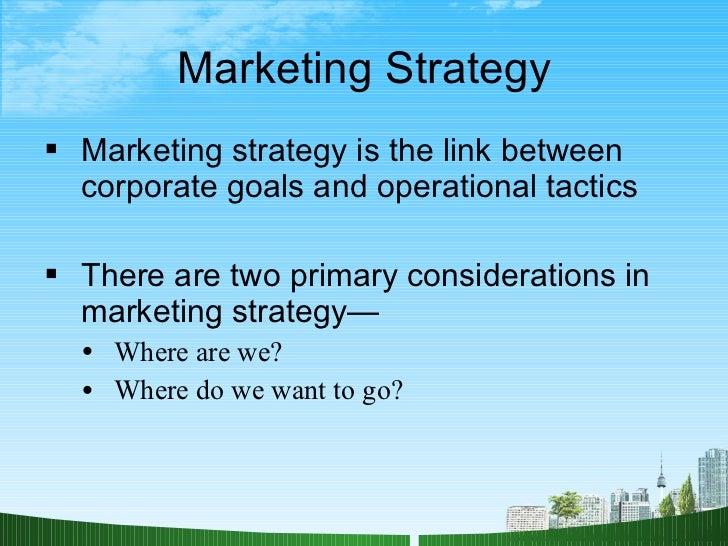 marketing plan presentation ppt