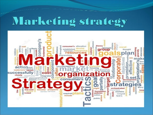 Marketing strategy Marketing strategy can be defined as a process that can   allow an organization to concentrate its res...