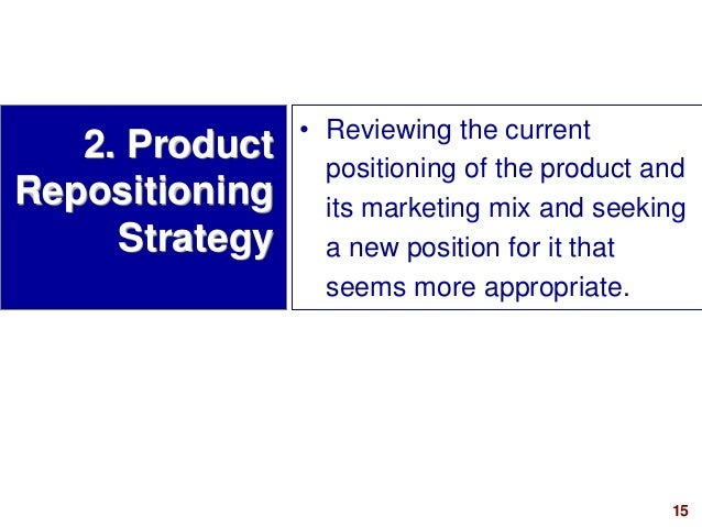 marketing plan for the repositioning of the product marketing essay The new topic marketing plan of mang inasal term and year marketing plan: individual reflective essay in order to develop a marketing plan for the product.