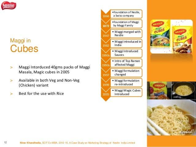 Marketing Srategy - Nestle Maggi by Nirav Khandhedia