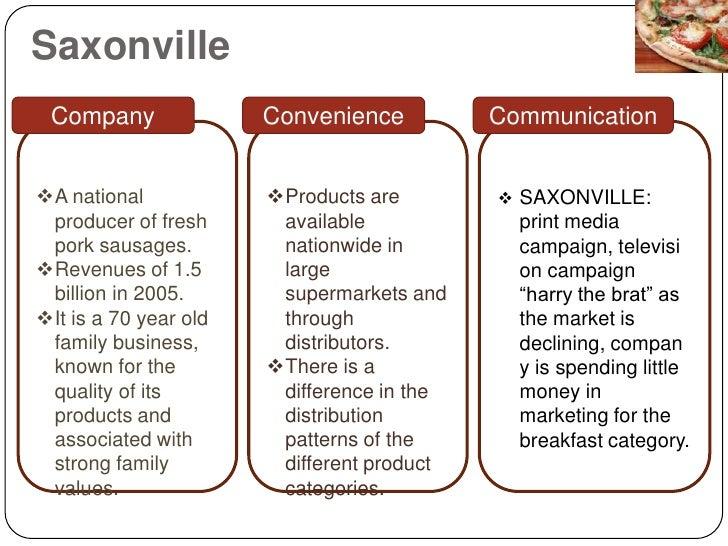 Saxonville Case Study