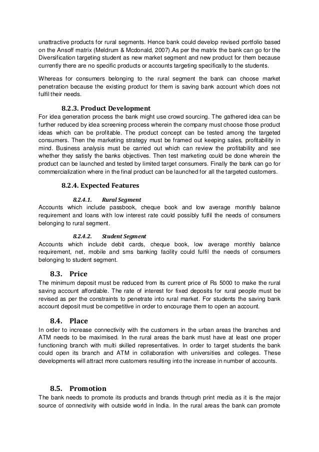 Community Bank Strategic Planning