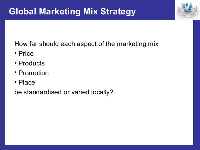 a marketing mix strategy for the abc company These variables are also known as the 4 p's of marketing or the product marketing mix price – what is the pricing strategy used by the company.