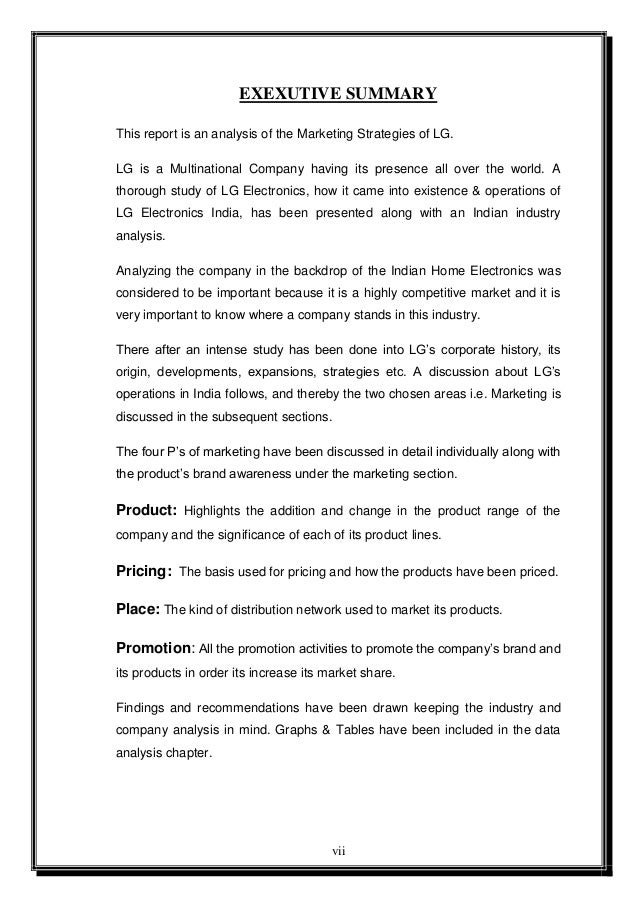 marketing strategy of lg electronics These are the questions to be addressed, but the main theme is the marketing strategies of dawlance and lg refrigerators this paper is mainly divided in to four sections the first section deals with the marketing strategies in general.