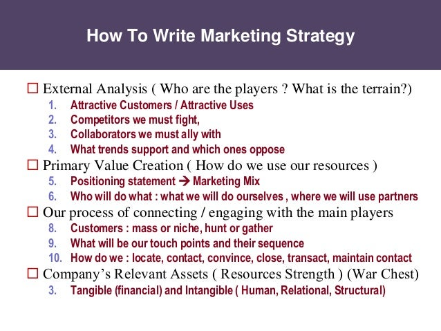 Marketing Strategy explained in 25 Easy Slides for MBA students