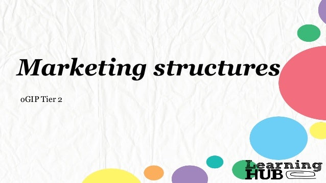 Marketing structures oGIP Tier 2