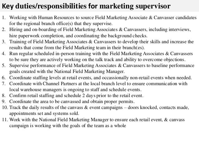 store supervisor job description pdf