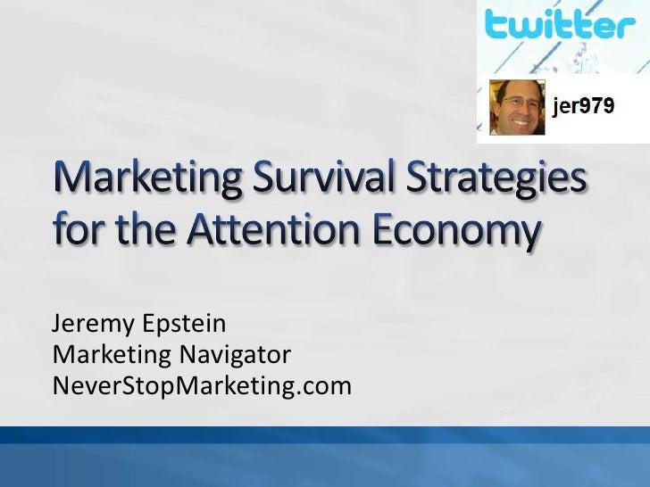 Jeremy Epstein Marketing Navigator NeverStopMarketing.com