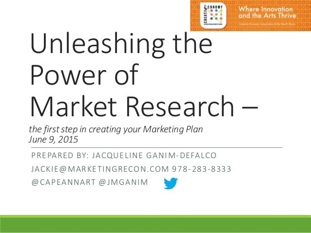 Unleashing the Power of Market Research: Creative Economy ...