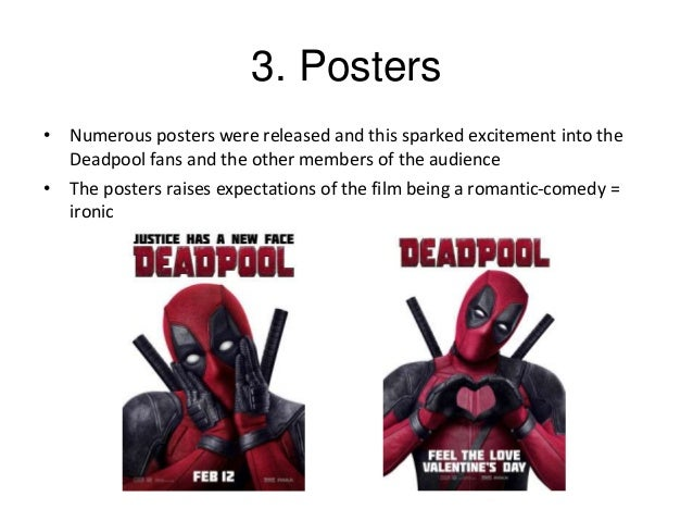 Marketing Techniques Used To Promote The Film Deadpool