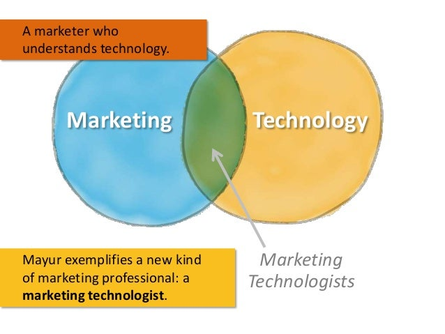 A marketer who understands technology.  Marketing  Mayur exemplifies a new kind of marketing professional: a marketing tec...