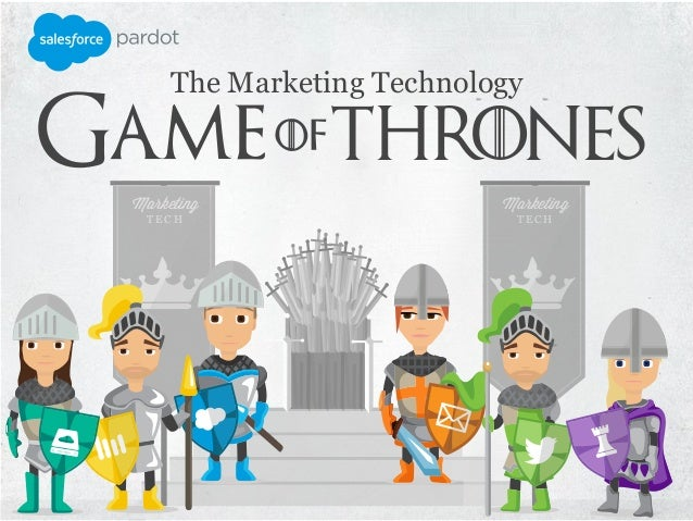 The Marketing Technology Thrones Marketing T E C H Marketing T E C H