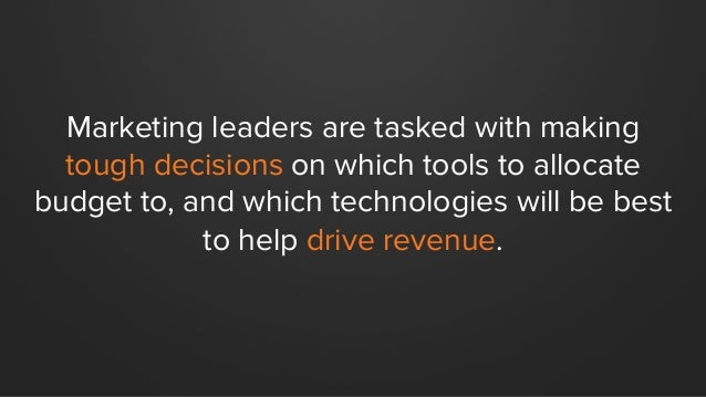 12 Stats on How Marketing Technology is Changing the Game Slide 2