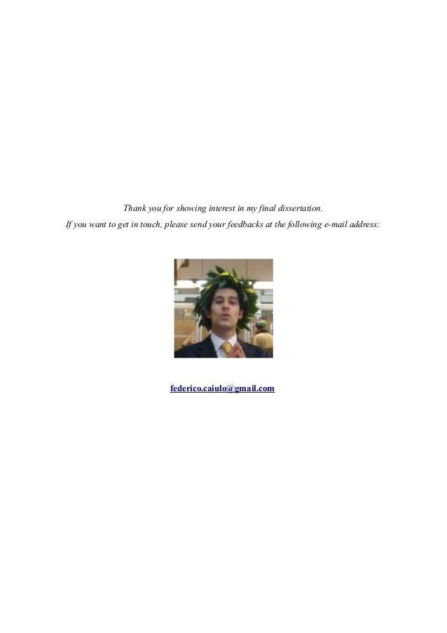 Dissertation ideas for behaviour management