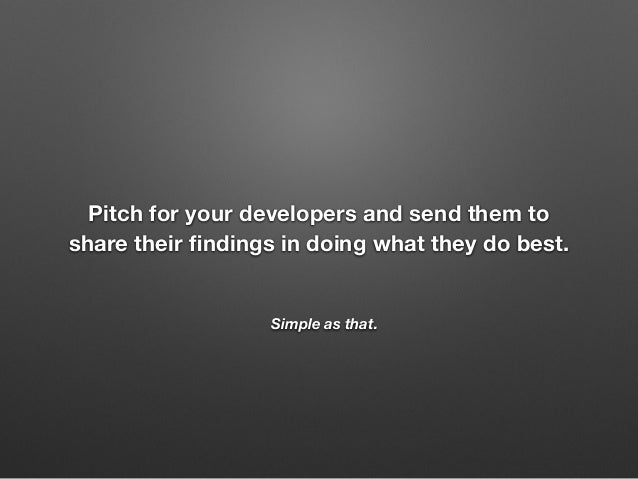 Marketing to Developers