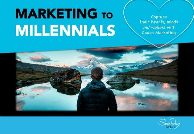 2 converging drivers to marketing disruption MILLENNIALS TECHNOLOGY