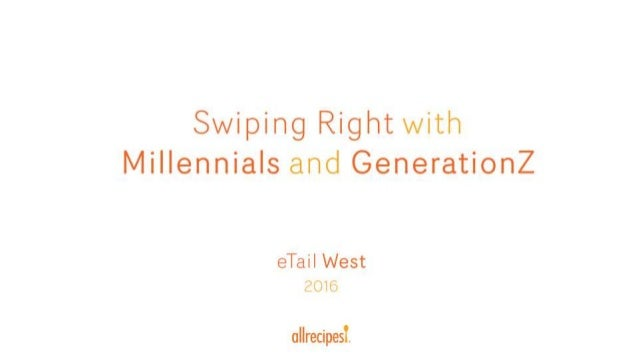 Swiping Right With Millennials And Generation Z