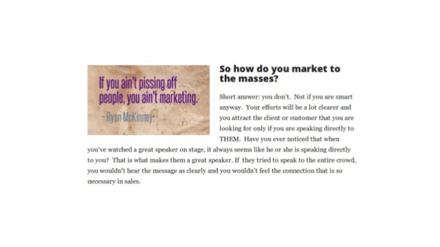 Find out more about attraction marketing at http://Done4UMedia.com